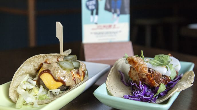 SINGAPORE, SINGAPORE - 6 JUNE: In this photo illustration, Lucha Loco, a mexican restaurant and bar, have created the El Trumpo and Rocketman tacos on June 6, 2018 in Singapore. The White House confirmed on Tuesday that the historic meeting between U.S. President Donald Trump and North Korean leader Kim Jong-un will take place at the Capella Hotel on Singapore's Sentosa Island on June 12 as the Southeast Asian city-state prepares to host the much-anticipated event while increasing the security across the island and designated certain parts as 'a special event area'. (Photo by Ore Huiying/Getty Images)
