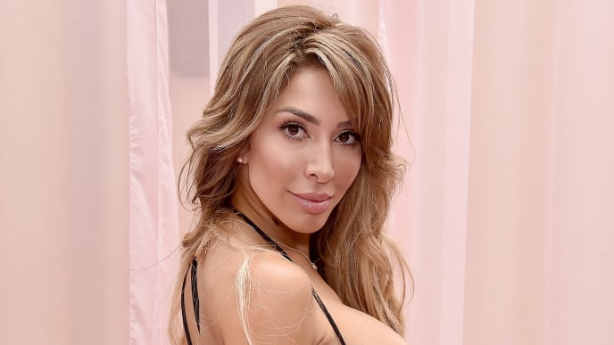 HOLLYWOOD, CA - JUNE 22:  Farrah Abraham arrives at Hollywood Unlocked Social Impact Brunch Powered By PrettyLittleThing.com at The Sunset Room on June 22, 2019 in Hollywood, California.  (Photo by Gregg DeGuire/Getty Images)