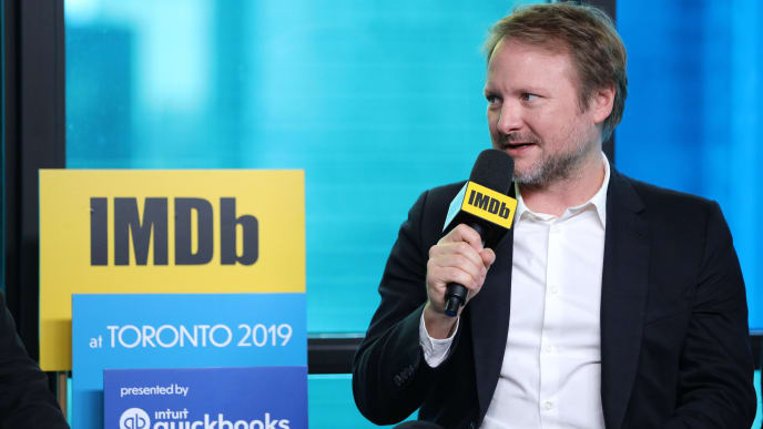 TORONTO, ONTARIO - SEPTEMBER 08: Director Rian Johnson of 'Knives Out' attends The IMDb Studio Presented By Intuit QuickBooks at Toronto 2019 at Bisha Hotel & Residences on September 08, 2019 in Toronto, Canada. (Photo by Rich Polk/Getty Images for IMDb)