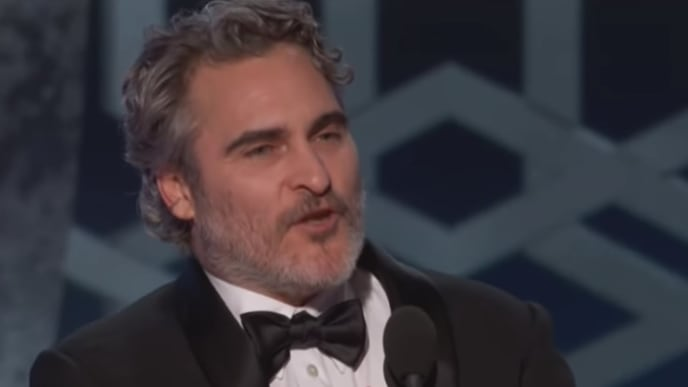 Joaquin Phoenix urges Hollywood to help prevent climate change at the Golden Globes