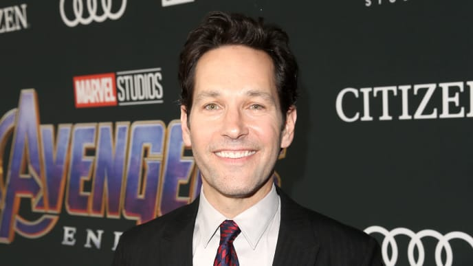 """LOS ANGELES, CA - APRIL 22:  Paul Rudd attends the Los Angeles World Premiere of Marvel Studios' """"Avengers: Endgame"""" at the Los Angeles Convention Center on April 23, 2019 in Los Angeles, California.  (Photo by Jesse Grant/Getty Images for Disney)"""