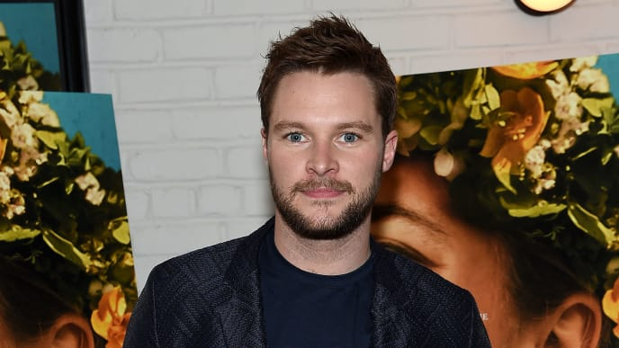 "NEW YORK, NEW YORK - JUNE 27: Jack Reynor attends the ""Midsommar"" New York Screening at Metrograph on June 27, 2019 in New York City. (Photo by Jamie McCarthy/Getty Images)"