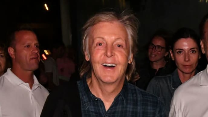 AMAGANSETT, NEW YORK - AUGUST 25: Paul McCartney attends the Mumford & Sons exclusive concert for SiriusXM and Pandora at The Stephen Talkhouse on August 25, 2019 in Amagansett, New York. (Photo by Bryan Bedder/Getty Images for SiriusXM)