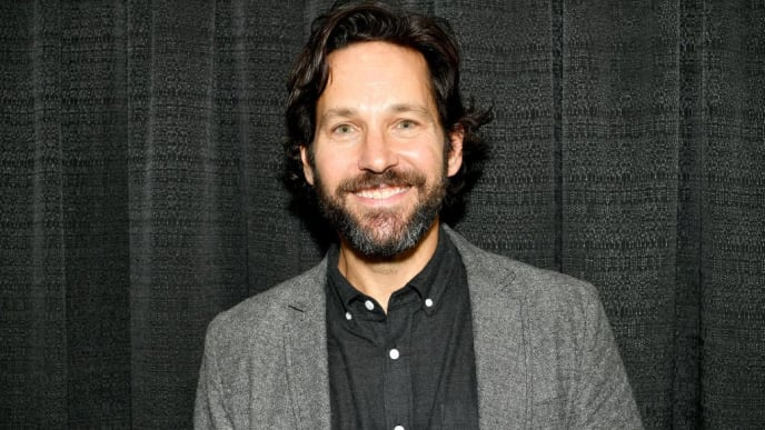 NEW YORK, NEW YORK - OCTOBER 03: Paul Rudd attends the New York Comic Con at Jacob K. Javits Convention Center on October 03, 2019 in New York City. (Photo by Dia Dipasupil/Getty Images for ReedPOP )