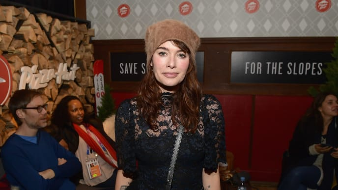 PARK CITY, UT - JANUARY 27:  Actor Lena Headey of 'Fighting With My Family' attends the Pizza Hut Lounge during the 2019 Sundance Film Festival in Park City, UT  (Photo by Matt Winkelmeyer/Getty Images for Pizza Hut)