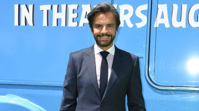 """LOS ANGELES, CALIFORNIA - AUGUST 10:  Eugenio Derbez attends the Premiere Of Sony's """"The Angry Birds Movie 2"""" on August 10, 2019 in Los Angeles, California. (Photo by Jon Kopaloff/Getty Images)"""