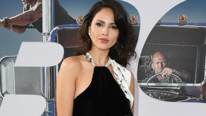 "HOLLYWOOD, CALIFORNIA - JULY 13:  Eiza Gonzalez attends the Premiere Of Universal Pictures' ""Fast & Furious Presents: Hobbs & Shaw"" at Dolby Theatre on July 13, 2019 in Hollywood, California. (Photo by Jon Kopaloff/Getty Images)"
