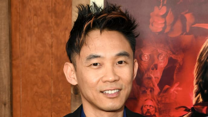 """WESTWOOD, CALIFORNIA - JUNE 20: James Wan arrives at the premiere of Warner Bros. Pictures and New Line Cinema's """"Annabelle Comes Home"""" at Regency Village Theatre on June 20, 2019 in Westwood, California. (Photo by Kevin Winter/Getty Images)"""
