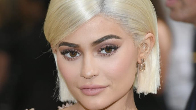 """NEW YORK, NY - MAY 01:  Kylie Jenner attends the """"Rei Kawakubo/Comme des Garcons: Art Of The In-Between"""" Costume Institute Gala at Metropolitan Museum of Art on May 1, 2017 in New York City.  (Photo by Dia Dipasupil/Getty Images For Entertainment Weekly)"""