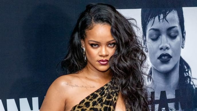 "NEW YORK, NEW YORK - OCTOBER 11: Singer Rihanna attends the launch of her first visual autobiography, ""Rihanna"" at Guggenheim Museum on October 11, 2019 in New York City. (Photo by Roy Rochlin/Getty Images)"