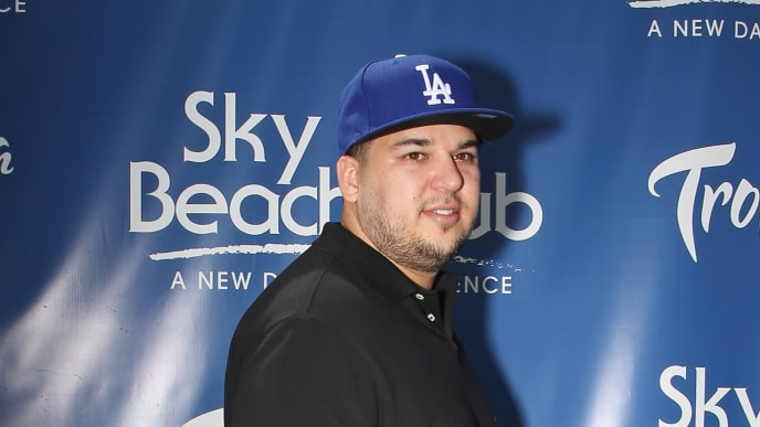 LAS VEGAS, NV - MAY 28:  Television personality Rob Kardashian attends the Sky Beach Club at the Tropicana Las Vegas on May 28, 2016 in Las Vegas, Nevada.  (Photo by Gabe Ginsberg/Getty Images)