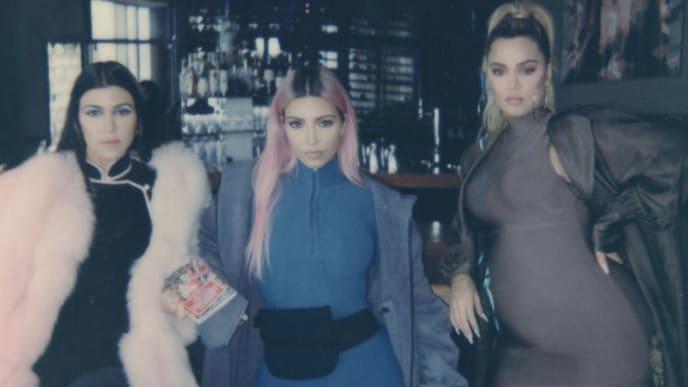 Kourtney, Kim, and Khloé Kardashian in Japan 2018