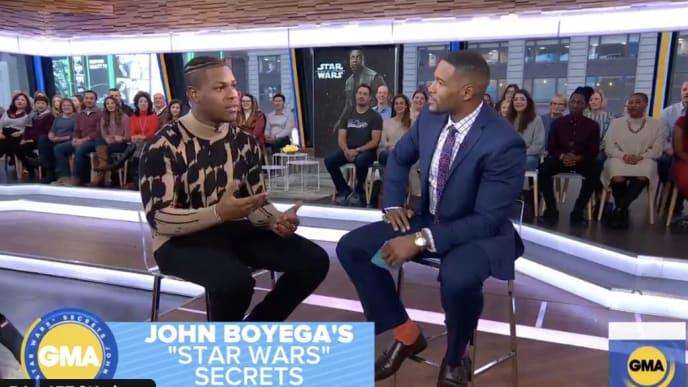 John Boyega from 'Star Wars: The Rise of Skywalker' via YouTube