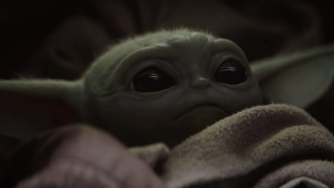 "Baby Yoda or ""The Child"" from 'Star Wars: The Mandalorian'"