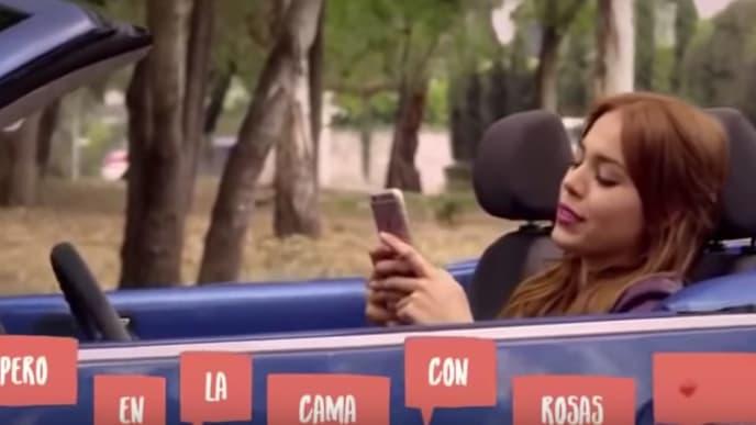 Danna Paola en la película No Manches Frida 2