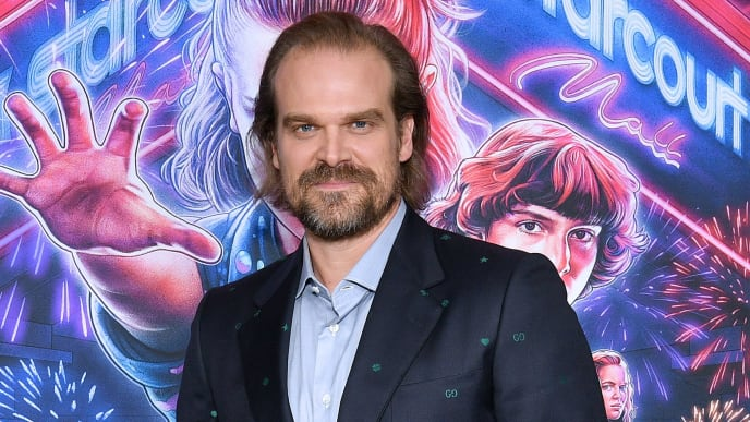 "Hopper Actor David Harbour At The ""Stranger Things"" Season 3 New York Screening"