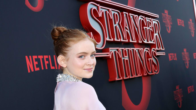 """SANTA MONICA, CALIFORNIA - JUNE 28: Sadie Sink attends the """"Stranger Things"""" Season 3 World Premiere on June 28, 2019 in Santa Monica, California. (Photo by Rachel Murray/Getty Images for Netflix)"""