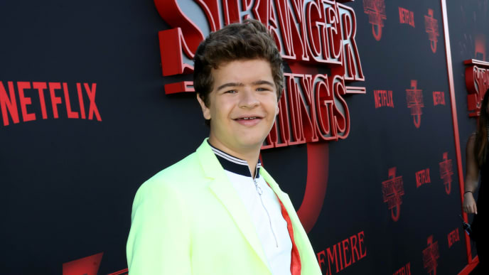 "SANTA MONICA, CALIFORNIA - JUNE 28: Gaten Matarazzo attends the ""Stranger Things"" Season 3 World Premiere on June 28, 2019 in Santa Monica, California. (Photo by Rachel Murray/Getty Images for Netflix)"