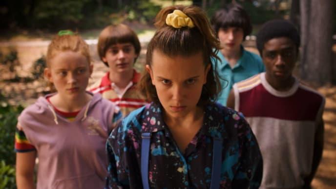 Stranger Things es la serie mejor valorada en Netflix