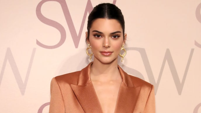 NEW YORK, NEW YORK - FEBRUARY 12: Kendall Jenner attends Stuart Weitzman Spring Celebration 2019 on February 12, 2019 in New York City. (Photo by Cindy Ord/Getty Images for Stuart Weitzman)