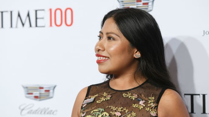 NEW YORK, NEW YORK - APRIL 23: Yalitza Aparicio attends the TIME 100 Gala 2019 Lobby Arrivals at Jazz at Lincoln Center on April 23, 2019 in New York City. (Photo by Noam Galai/Getty Images for TIME)