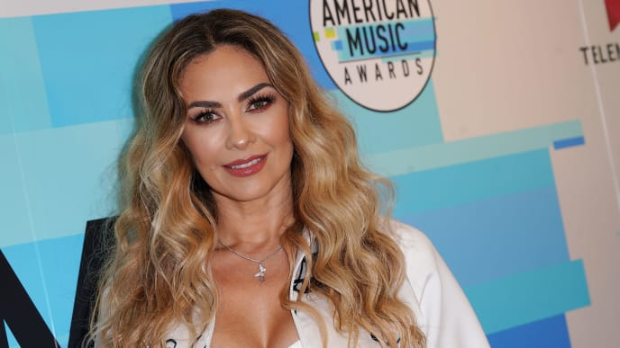 LOS ANGELES, CA - OCTOBER 23:  Recording artist/actress Aracely Arambula attends Telemundo's Q&A session about the contribution of latinas in the music world at Los Angeles Film School on October 23, 2018 in Los Angeles, California.  (Photo by JC Olivera/Getty Images)