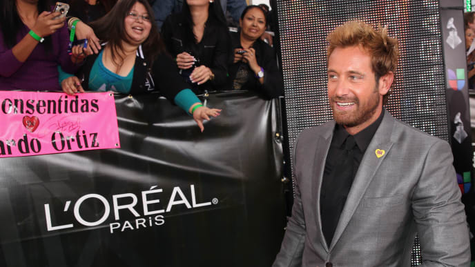 LAS VEGAS, NV - NOVEMBER 15:  Actor Gabriel Soto arrives at the 13th annual Latin GRAMMY Awards held at the Mandalay Bay Events Center on November 15, 2012 in Las Vegas, Nevada.  (Photo by Christopher Polk/Getty Images for Latin Recording Academy)