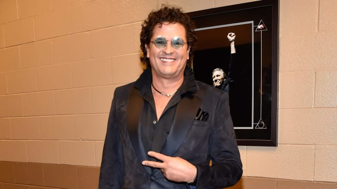 LAS VEGAS, NV - NOVEMBER 15: Carlos Vives backstage during the 19th annual Latin GRAMMY Awards at MGM Grand Garden Arena on November 15, 2018 in Las Vegas, Nevada.  (Photo by David Becker/Getty Images for LARAS)