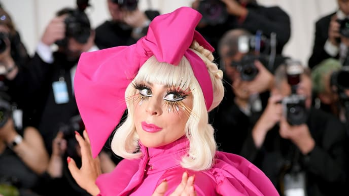NEW YORK, NEW YORK - MAY 06: Lady Gaga attends The 2019 Met Gala Celebrating Camp: Notes on Fashion at Metropolitan Museum of Art on May 06, 2019 in New York City. (Photo by Neilson Barnard/Getty Images)