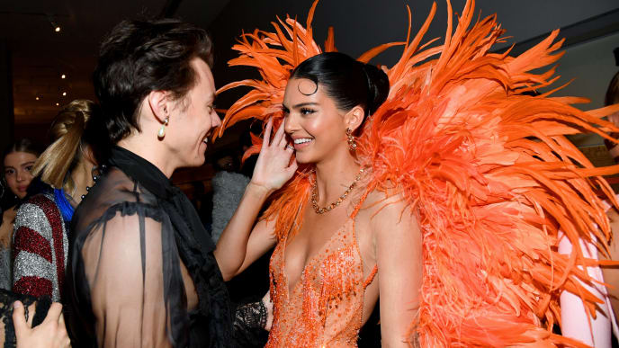 Kendall Jenner and ex-boyfriend Harry Styles at the Met Gala 2019