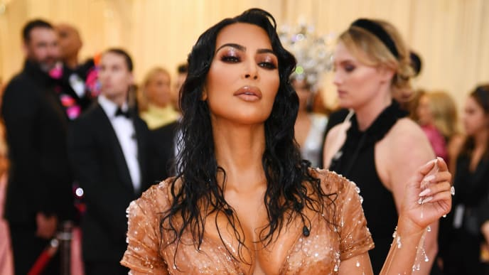 NEW YORK, NEW YORK - MAY 06: Kim Kardashian West attends The 2019 Met Gala Celebrating Camp: Notes on Fashion at Metropolitan Museum of Art on May 06, 2019 in New York City. (Photo by Dimitrios Kambouris/Getty Images for The Met Museum/Vogue)