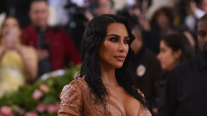 NEW YORK, NEW YORK - MAY 06: Kim Kardashian West attends The 2019 Met Gala Celebrating Camp: Notes on Fashion at Metropolitan Museum of Art on May 06, 2019 in New York City. (Photo by Jamie McCarthy/Getty Images)