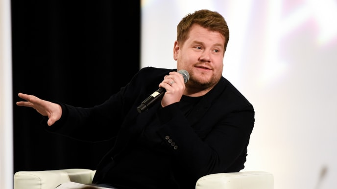 HOLLYWOOD, CALIFORNIA - NOVEMBER 15: James Corden attends The Hollywood Chamber's 7th Annual State Of The Entertainment Industry Conference Presented By Variety at Loews Hollywood Hotel on November 15, 2018 in Hollywood, California. (Photo by Presley Ann/Getty Images)