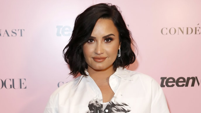 LOS ANGELES, CALIFORNIA - NOVEMBER 02: Demi Lovato attends the Teen Vogue Summit 2019 at Goya Studios on November 02, 2019 in Los Angeles, California. (Photo by Rachel Murray/Getty Images for Teen Vogue)
