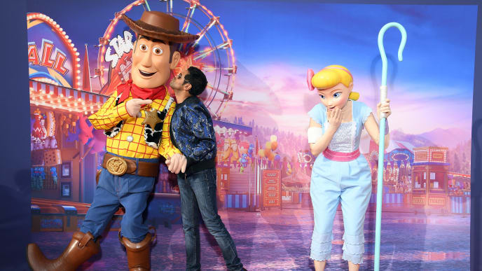 "PARIS, FRANCE - JUNE 22: Jamel Debbouze attends the ""Toy Story 4"" Paris Gala Screening at Disneyland Paris on June 22, 2019 in Paris, France. (Photo by Pascal Le Segretain/Getty Images For Disney Studios) (Photo by Pascal Le Segretain/Getty Images For Disney Studios)"