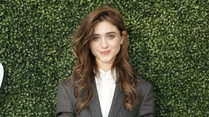 NEW YORK, NEW YORK - AUGUST 26: Natalia Dyer attends USTA 19th Annual Opening Night Gala Blue Carpet at USTA Billie Jean King National Tennis Center on August 26, 2019 in New York City. (Photo by John Lamparski/Getty Images)
