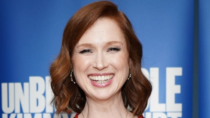 """LOS ANGELES, CALIFORNIA - MAY 29: Ellie Kemper attends Universal Television's FYC """"Unbreakable Kimmy Schmidt"""" panel at UCB Sunset Theater on May 29, 2019 in Los Angeles, California. (Photo by Rachel Luna/Getty Images)"""