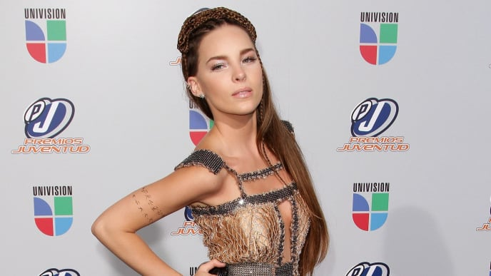 MIAMI - JULY 15:  Musician Belinda attends the Univision Premios Juventud Awards at BankUnited Center on July 15, 2010 in Miami, Florida.  (Photo by Alexander Tamargo/Getty Images)