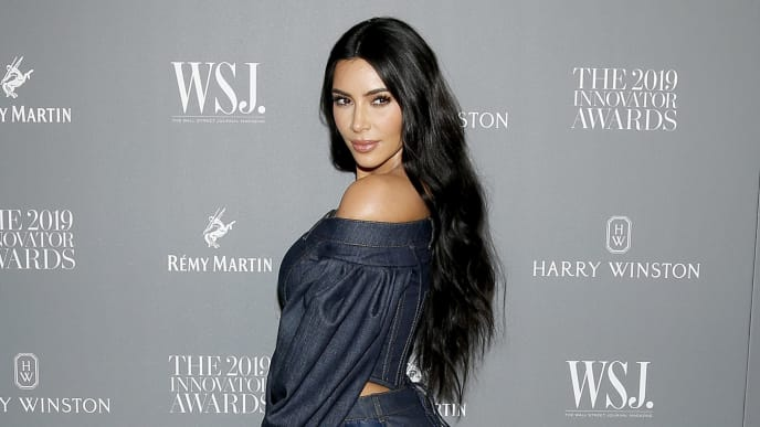 NEW YORK, NEW YORK - NOVEMBER 06: Kim Kardashian West attends the WSJ. Magazine 2019 Innovator Awards sponsored by Harry Winston and Rémy Martinat MOMA on November 06, 2019 in New York City. (Photo by Lars Niki/Getty Images for WSJ. Magazine Innovators Awards )