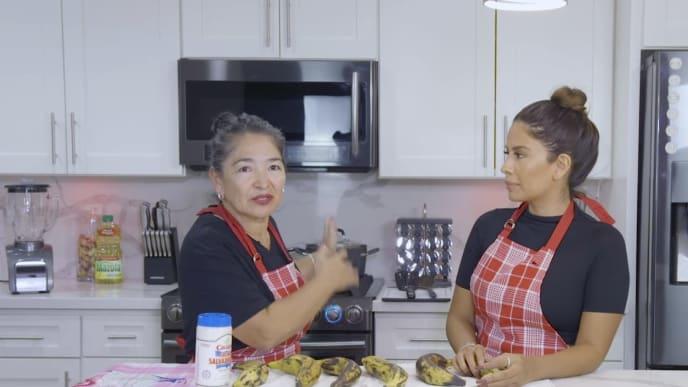 Yris Palmer shares Salvadoran food traditions alongside her mom Velma