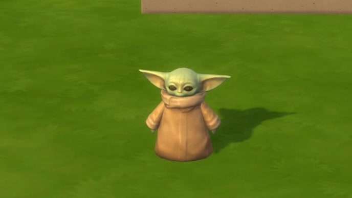 """The Child"" or Baby Yoda Statue"