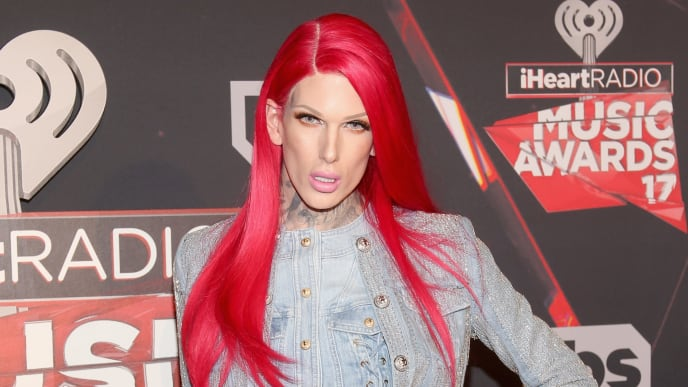 INGLEWOOD, CA - MARCH 05:  Singer-songwriter Jeffree Star attends the 2017 iHeartRadio Music Awards which broadcast live on Turner's TBS, TNT, and truTV at The Forum on March 5, 2017 in Inglewood, California.  (Photo by Jesse Grant/Getty Images for iHeartMedia)
