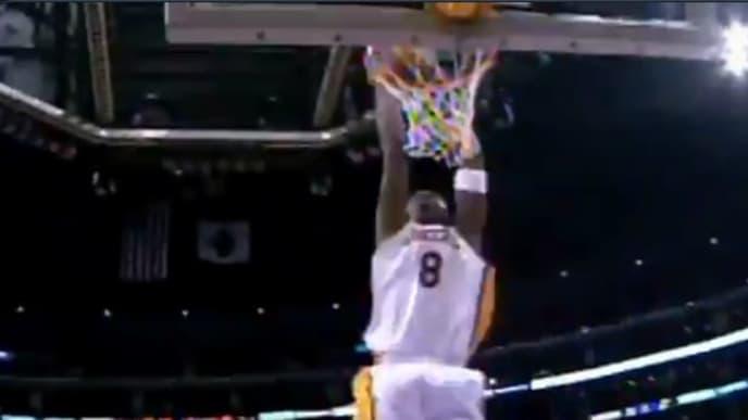 Hace 14 años la leyenda de los Lakers Kobe Bryant anotó 81 puntos en un juego contra los Raptors