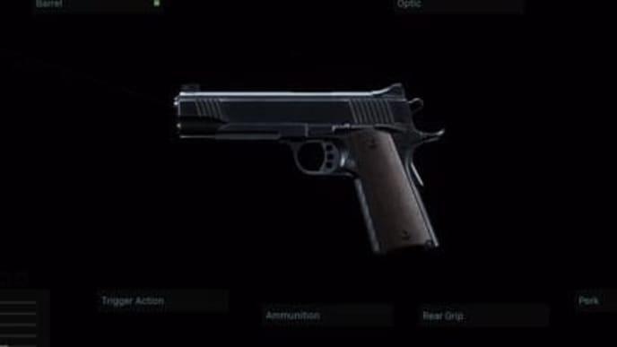 best pistol in modern warfare  ranking sidearms from best