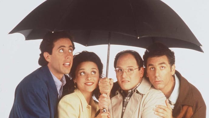 "1997 The Cast from the show ""Seinfeld"""