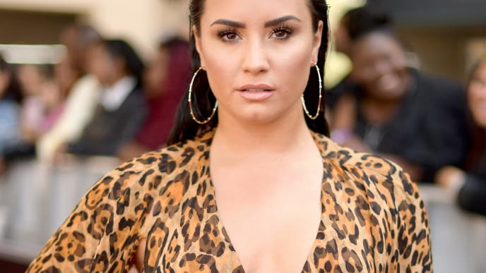 LAS VEGAS, NV - MAY 20:  Recording artist Demi Lovato attends the 2018 Billboard Music Awards at MGM Grand Garden Arena on May 20, 2018 in Las Vegas, Nevada.  (Photo by Matt Winkelmeyer/Getty Images for dcp)