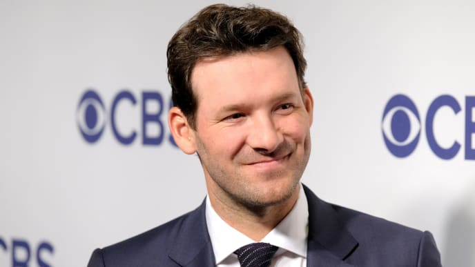 Former Dallas Cowboys QB and current NFL analyst Tony Romo