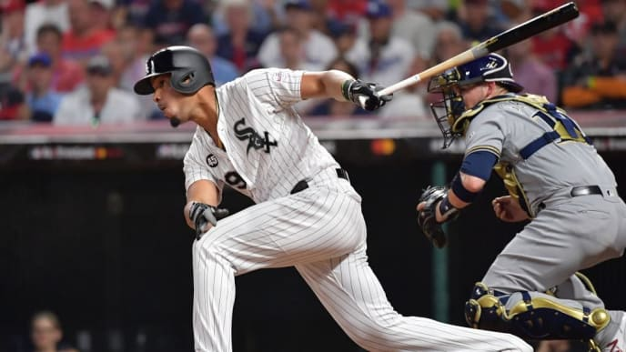 CLEVELAND, OHIO - JULY 09: Jose Abreu #79 of the Chicago White Sox participates in the 2019 MLB All-Star Game at Progressive Field on July 09, 2019 in Cleveland, Ohio. (Photo by Jason Miller/Getty Images)