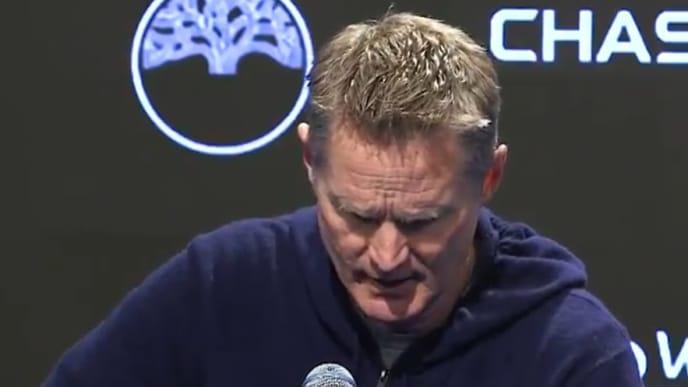 El entrenador de Golden State no tuvo más que elogios con la estrella de los Mavericks