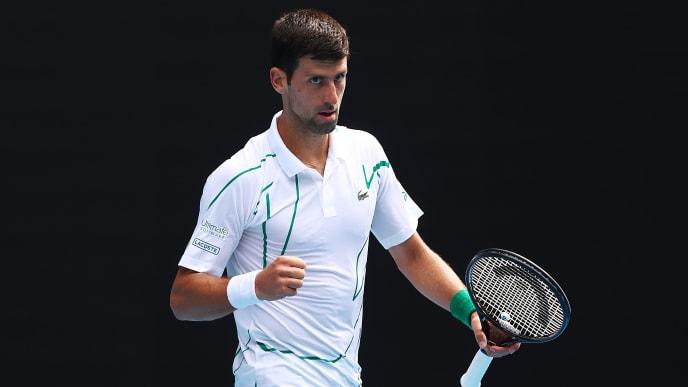 Novak Djokovic is seeking his eighth Australian Open title.